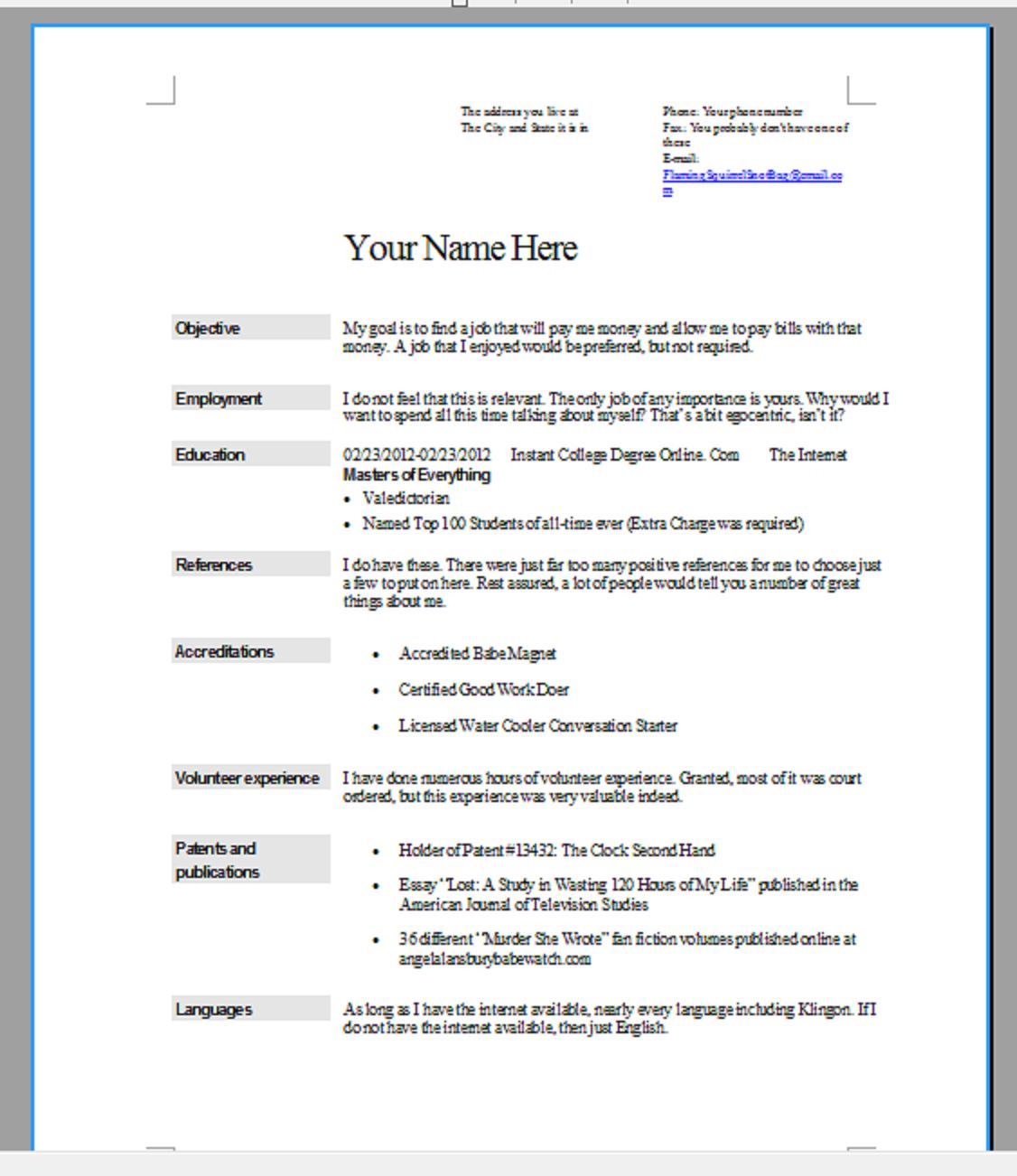 how to make the resume format on microsoft word resumes in word word supportoffice resume format