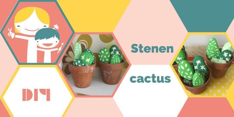 Een cactus van steen, die maak je zelf!
