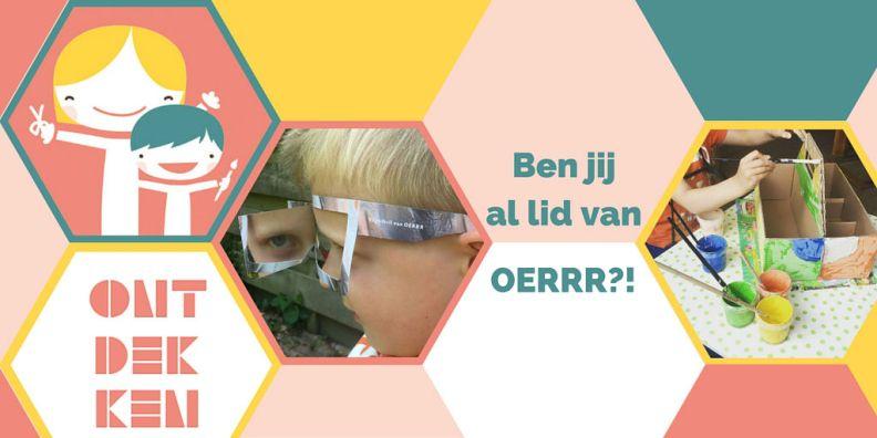 Zijn jullie ook al lid van OERRR!?