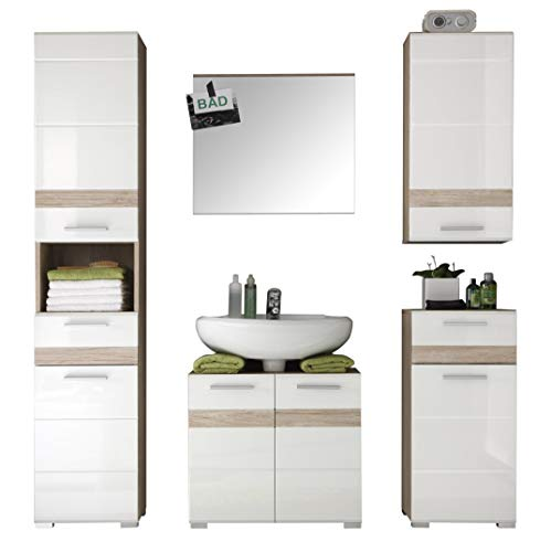 Badezimmer Set One Trendteam Smart Living Badezimmer 5-teilige Set