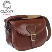 Croots Malton Leather Cartridge Bag Tan
