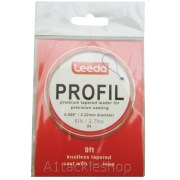 Leeda Profil Knottless Tapered Leader 6lb