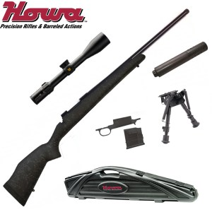 Howa Bell and Carlson Rifle Combo