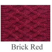 House of Cheviot Brick Red Rannoch Socks