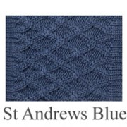 House of Cheviot St Andrew Blue Rannoch Socks