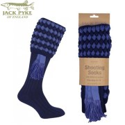 Jack Pike Pebble Shooting Socks Blue