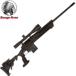 Savage 10Ba Stealth with scope
