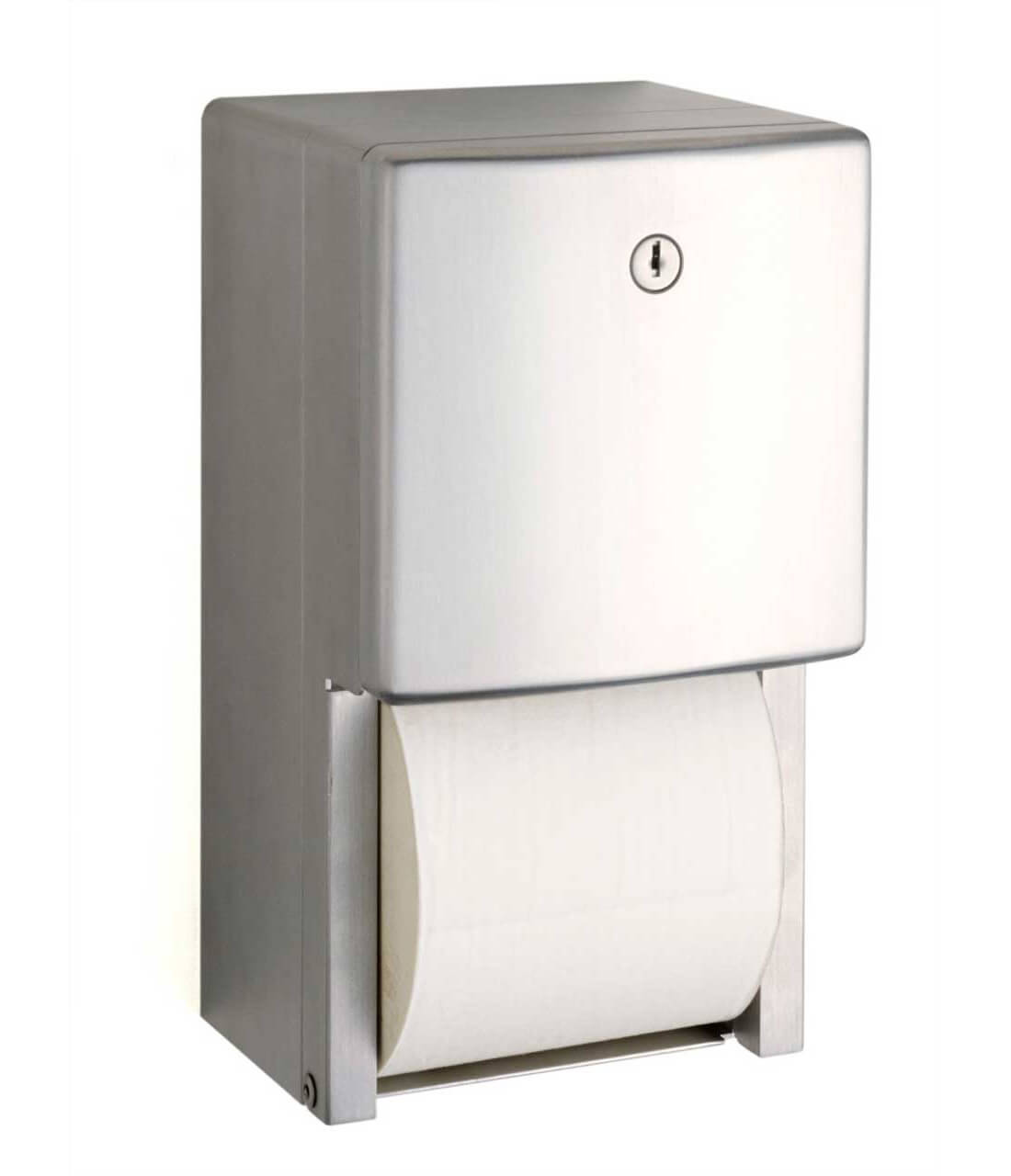 Stainless Steel Toilet Paper Stand Stainless Steel Double Roll Toilet Tissue Dispenser Bag