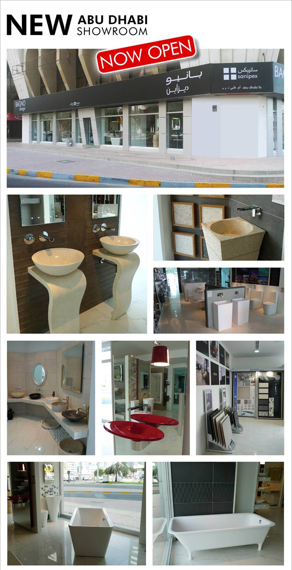 Bagno Design Dubai Clearance Bagno Design Showroom In Abu Dhabi New Exclusive Location