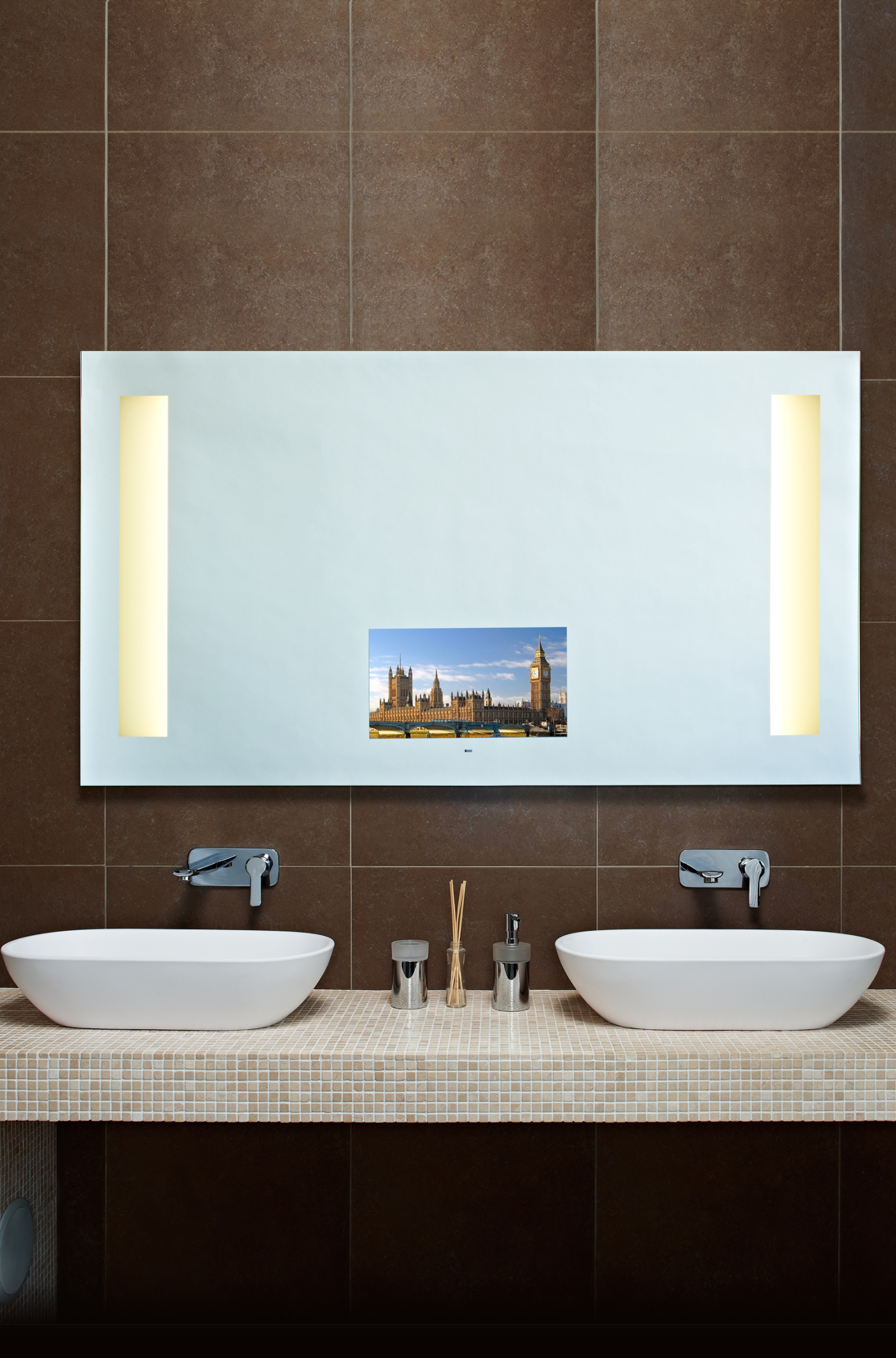Tv In Bathroom Mirror Price Various Bagnodesign Page 3
