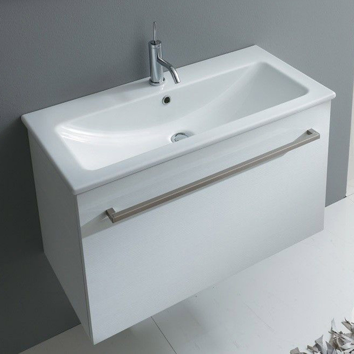 Mini Lavabo Bagno Lavabo 80 Cm Ceramica Mini Light