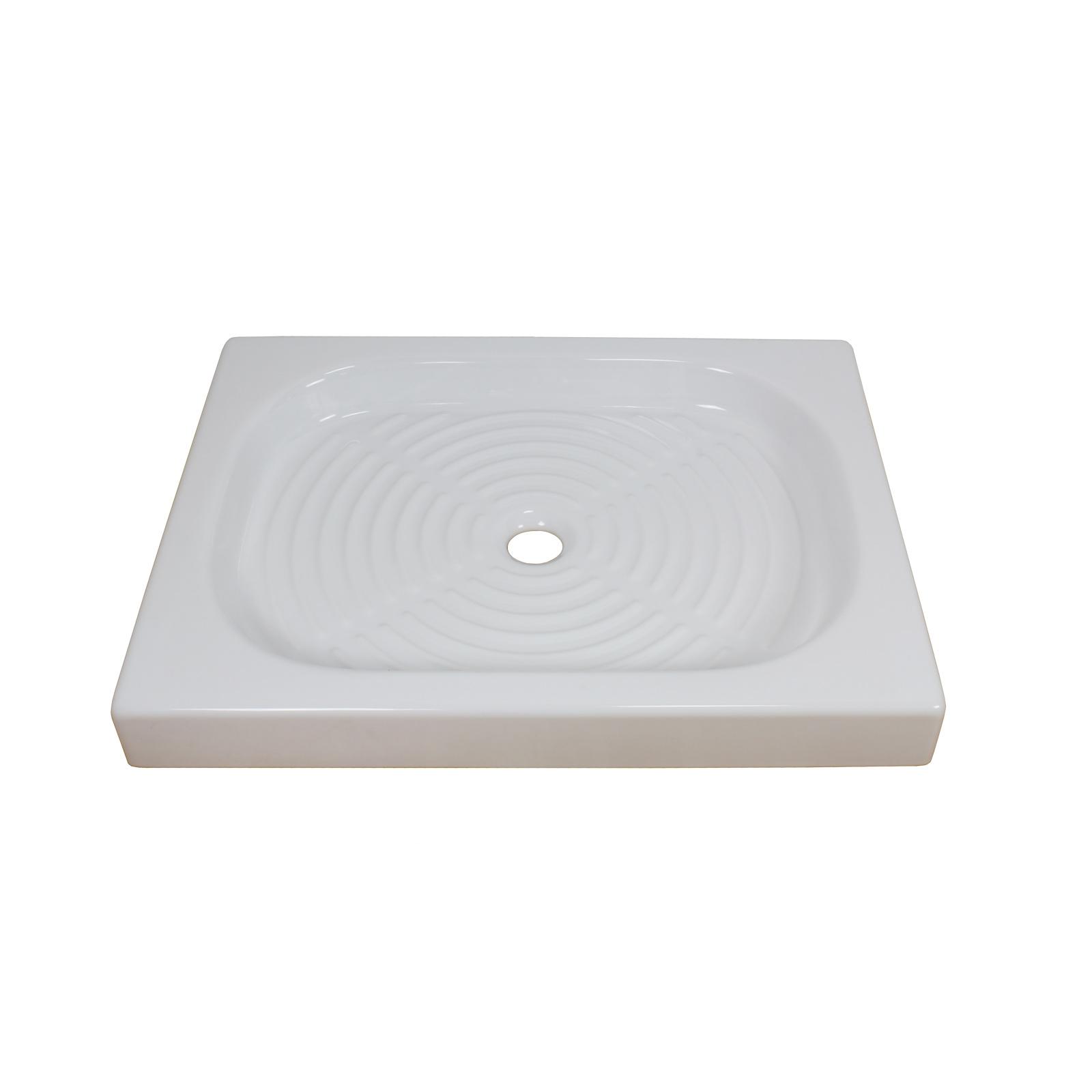 Piatto doccia ceramica piatto doccia 90x90 cm in for Piatto doccia 70x100 leroy merlin