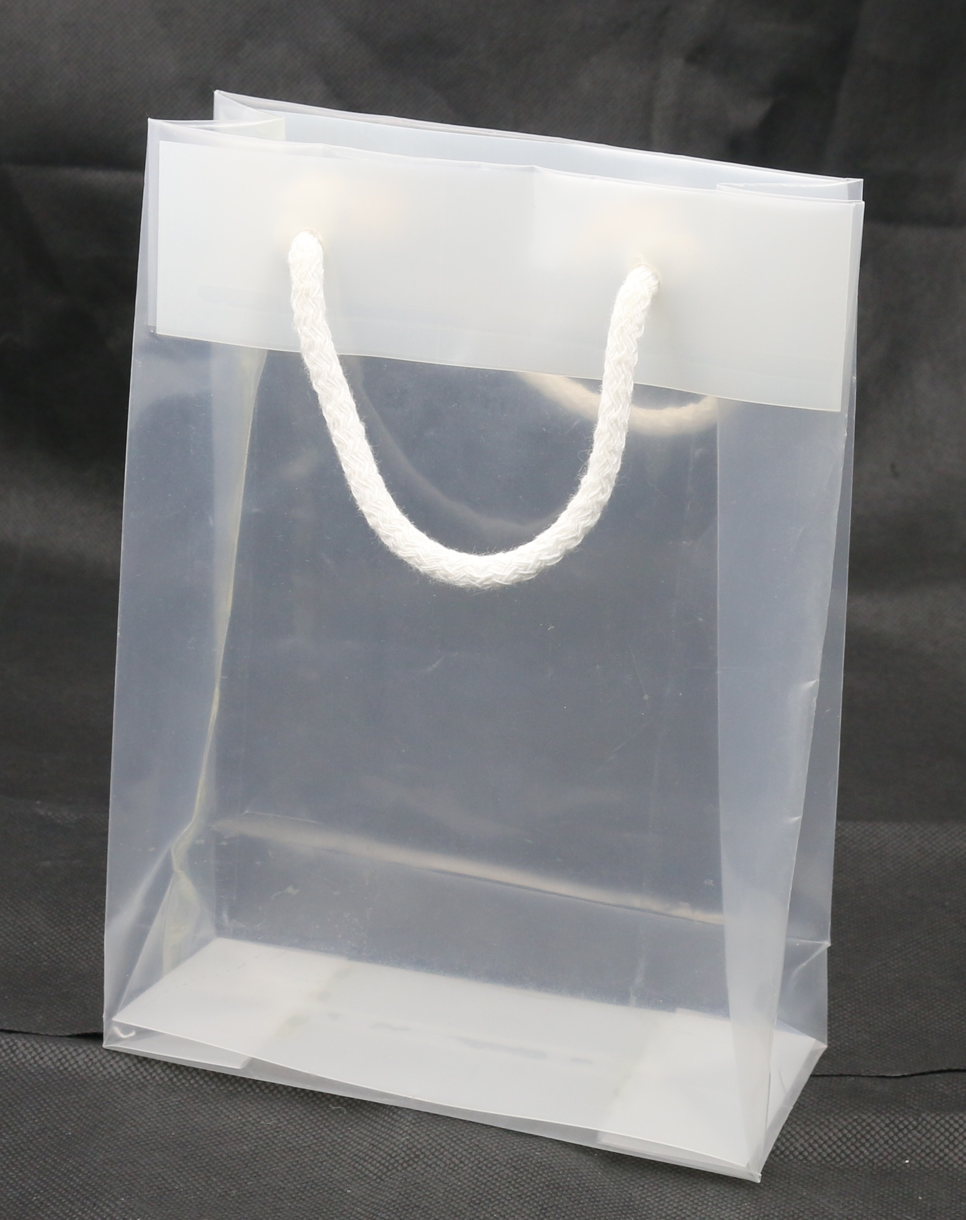 Flaschentaschen Papier Plastic Bags Promotional And Transparent Bags Bagobag