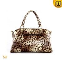 Women Leopard Print Leather Handbags CW300209