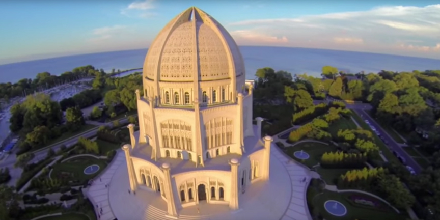 Four Seasons at the Wilmette Baha'i House of Worship - 864x486