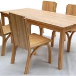 Mengawetkan Rotan dari Blue Stain Menggunakan BioCide Wood Fungicide : Diningchair