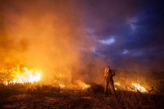 Mais de mil toneladas de gases são emitidos em incêndios na Chapada