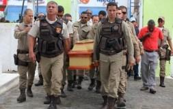PM morto em acidente na BR-116 é enterrado em Cruz das Almas