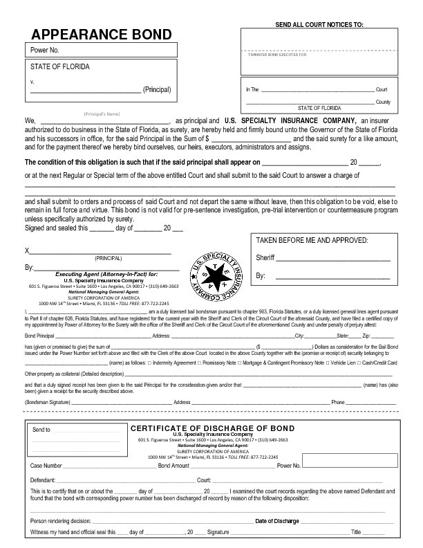 bail bond form - Honghankk - bond release form