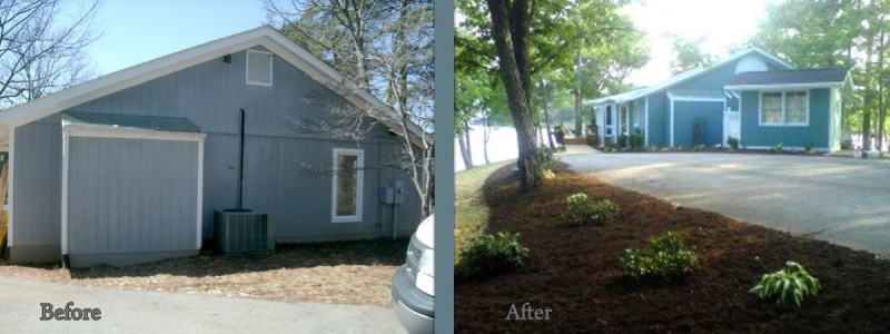 Smith Mountain Lake builder before and after 19