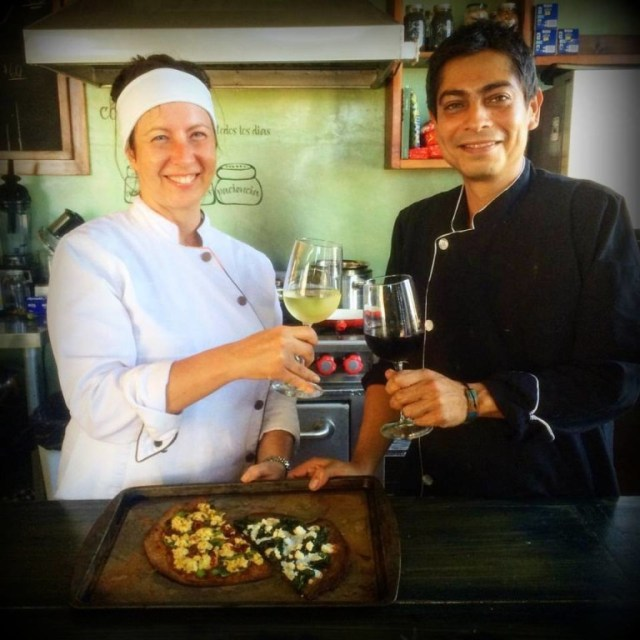 Chefs Maria Amore and Omar Hernandez