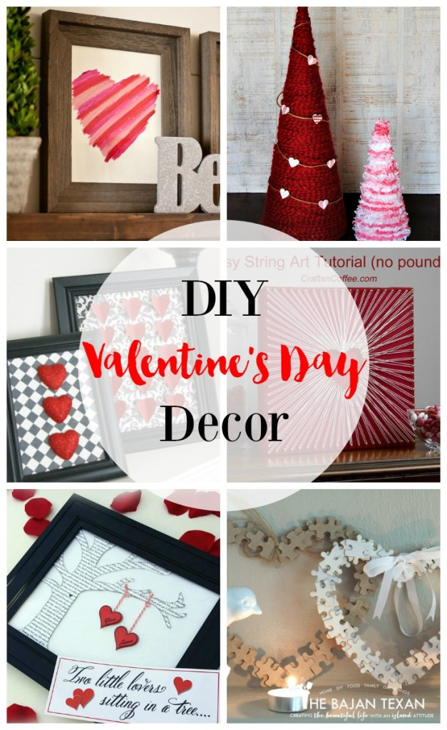Easy diy valentine 39 s day decor ideas the bajan texan for Valentine s day home decorations