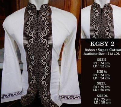 Baju Batik Modern Pekalongan Baju Koko Lengan Panjang Motif