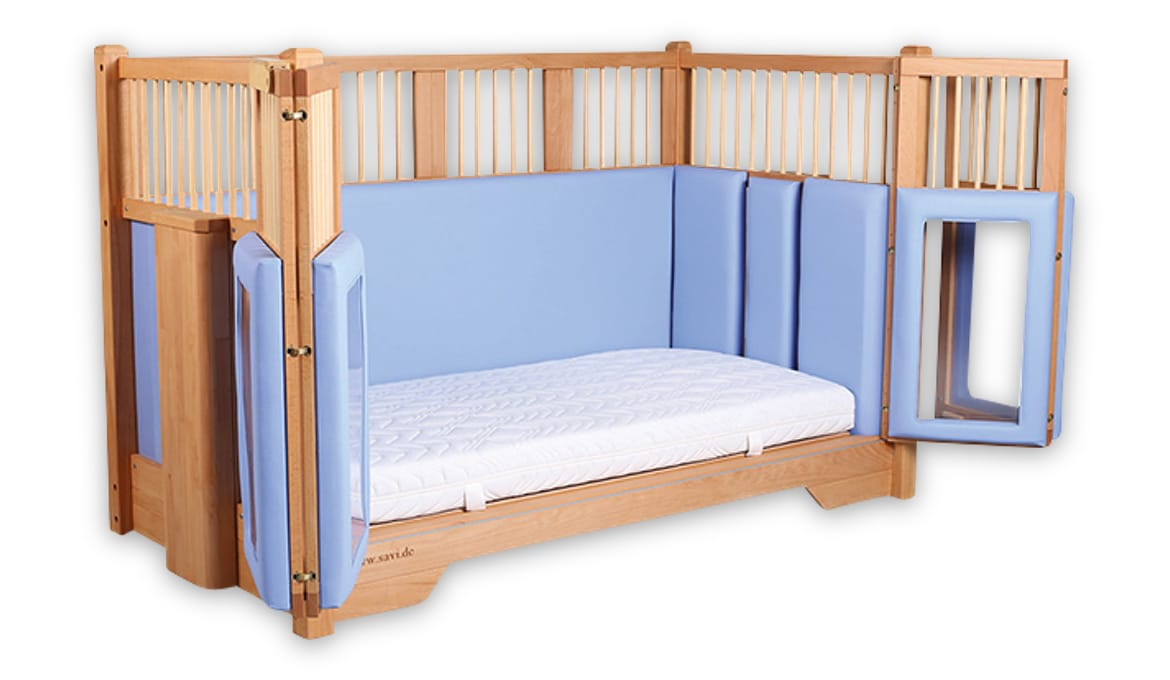 Natural Timber Cot Tom Care Cot Bakare Beds