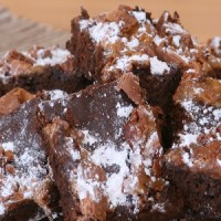 Bacon and Salted Caramel Brownies