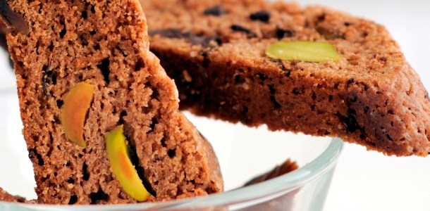 Chocolate and Pistachio Biscotti - Baked Chicago Recipe of ...
