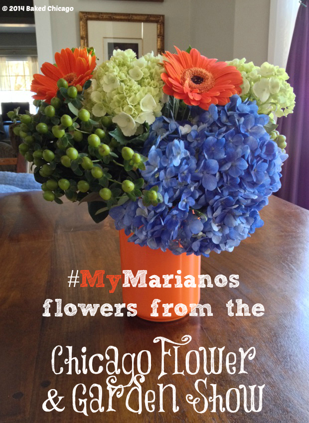 #MyMarianos Flower Market #CollectiveBias #shop Chicago Flower & Garden Show