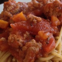 YOLO BOLO: Bolognese Spaghetti Sauce for the slow cooker