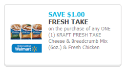 $1 coupon for KRAFT #FreshTake at Walmart #CollectiveBias