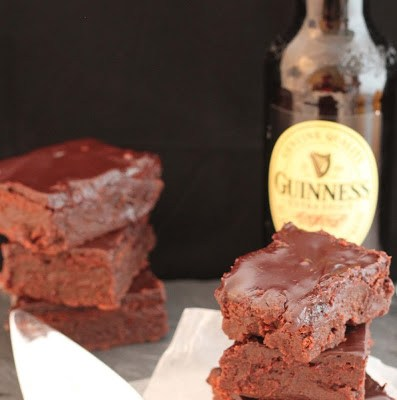 Guiness Chocolate Stout Brownies