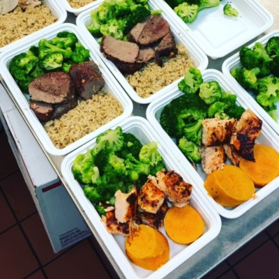 NativeFit Meal Prep Delivery Tampa August Menu