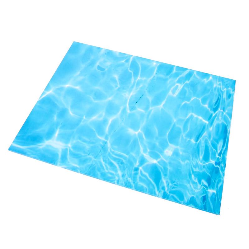 Masonite Cake Board (WATER) - RECTANGLE (45cm x 35cm) Bake Group