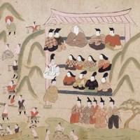 悲壮な物語なのに、ゆるい日本画『つきしま』―『築島物語絵巻』―
