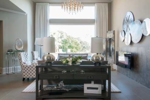 Interior Design in Dallas Award Winner - Family Room Space