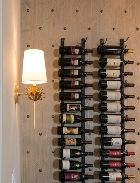 wine room interior design frisco