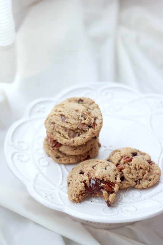 ... Chocolate and Toasted Pecan Cookies with Browned Butter - Baker Bettie