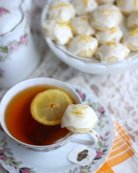 Lemon Goat Cheese Cookies | Baker Bettie