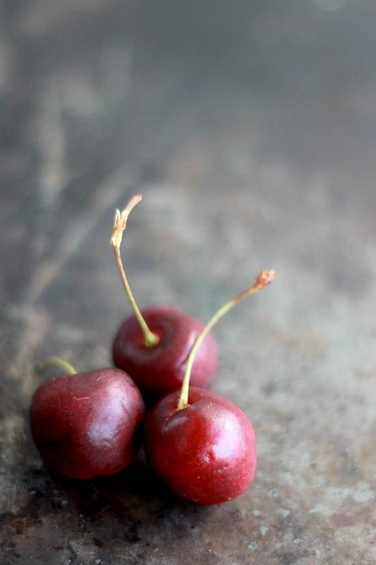 Free-Form Bourbon Soaked Cherry Pie- Baker Bettie