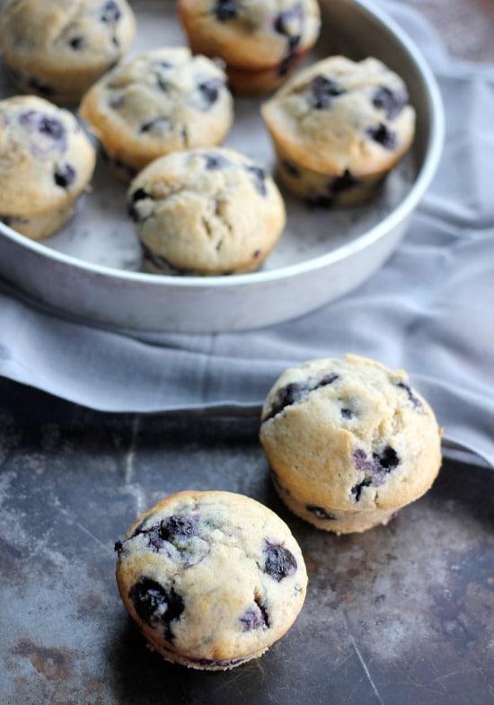Easy Blueberry Muffin Recipe- Baker Bettie