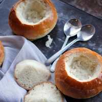 Homemade Bread Bowls