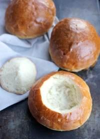 Homemade Bread Bowls- Baker Bettie
