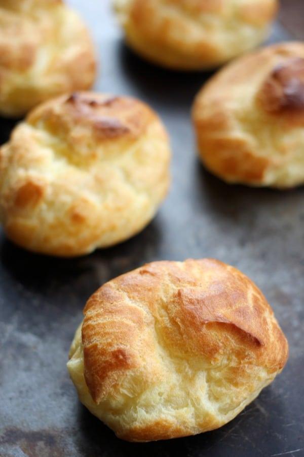 How to Make Classic Cream Puffs- Baker Bettie
