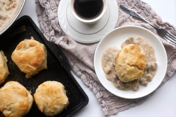 Old-Fashioned Lard Biscuits