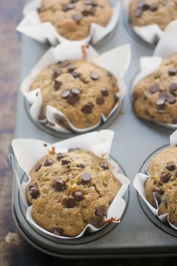 ... make 12 very large muffins, or you can make 16 or 24 smaller ones
