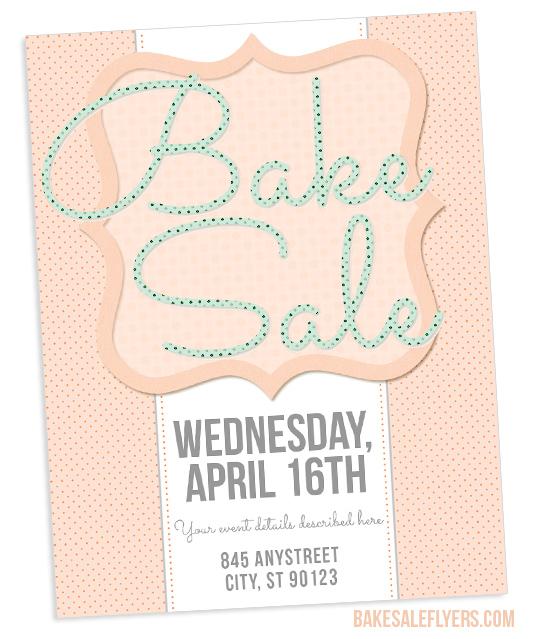 Spring Bake Sale Flyer Design Bake Sale Flyers \u2013 Free Flyer Designs - bake sale flyer template microsoft