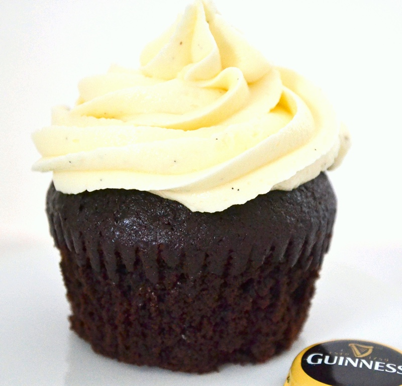 Chocolate Guinness Cupcake